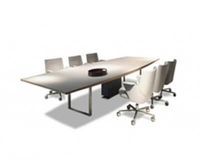 Áreas comunes mesa reunión grande