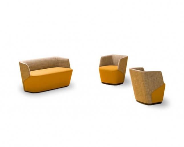 Sillones diseño para salas de espera oficina