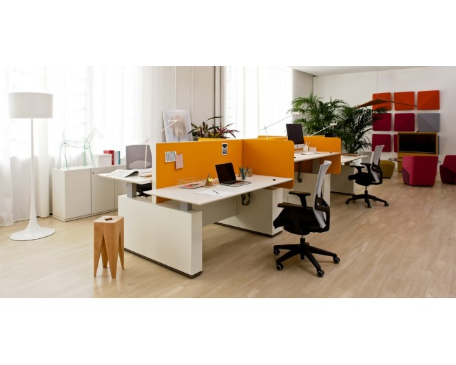 Mesa ergonómica para oficina Evo Sit&Stand