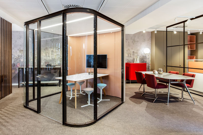 Collaborative Room mobiliario de oficina en madrid